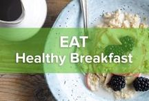 Healthy Breakfast / A good start is half the work. So let's have a healthy breakfast that'll keep you going 'til far after noon. Get inspired by our healthy breakfast ideas and knock yourself out!