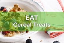 Cereal Treats / Go absolutely bananas with these awesome cereal treats. Just what you need when you're craving some snacking in between.