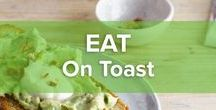 On Toast / Whether you're having breakfast or lunch, toast can be your ultimate companion. So don't throw away leftover old bread; pop it in a toaster and use some of our creative recipes.