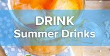 Summer Drinks / Summer, summer, summer time!!! Time for a drink. And what kind of? That's what we'll tell you. Start chillin' 'n shakin'! Find inspiration here for your most beautiful summer drink!