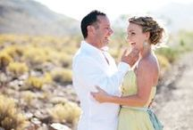 My own wedding / When I married my true love in the Great Karoo.