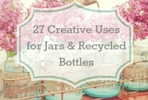 Upcycling ideas / collection of upcycling ideas, repurposing , recycling for crafting