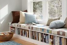 Book Nooks & Reading Spaces