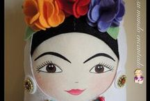 My Dolls  / Goma Eva, foamy, tela, fabric. @addisysumundoencantado