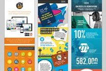 Infographics / We create infographics for our clients - untangling compelling information and bringing it to life by combining it with relevant, interesting graphics. Take a look at some of our work below. #worksmcworks #infographics #design