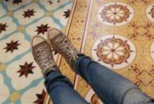 Uygulamalar/Applications / Karo Uygulamalar/ Cement Tile Application Photos from Different Places
