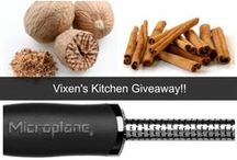 """Giveaways!! / """"Like"""" us on Facebook to be entered into our Giveaways!! https://www.facebook.com/pages/Vixens-Kitchen/1379993348943217"""