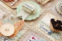 Handmade embellishment ideas / hand made paper embellishment ideas for cards and scrapbooking