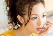 小顔 ヘアセット / パーティヘアの参考に♡ 小顔に見えるヘアセットの一覧です☆