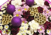 Christmas Flowers / Here is our beautiful range of Christmas Flowers. Eden4flowers sends beautiful fresh flowers styled by our own florists for delivery to any UK delivery address.