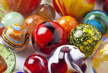 Marbles & Glass  / Glass, marbles