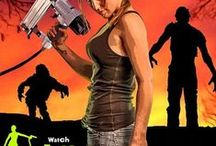Zombie Survivor / VMAC's Video Web Series finds Hal'On'Wheel's sexy mechanic using her VMAC air compressor system as the ultimate weapon to save her from disaster and help her be a...Zombie Survivor! / by VMAC