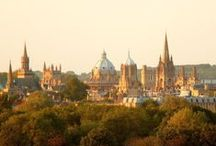 Beyond the Spires of Oxford / The beautiful city of Oxford, UK