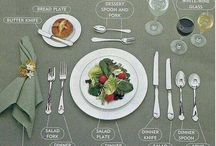 Tablescapes / The food tastes better when the table is set!