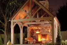 Outdoor Living Space / I love being able to expand my living space outdoors. Why not decorate beyond the walls of your home?