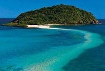 Paradise Beaches and Islands / Makes me long for sunshine and pristine beaches.