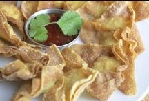 Thai Snack Recipes / Thai snacks that are great for parties or when you just need to eat something quick and tasty!
