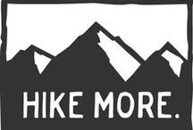 Hike more. / Hiking inspiration, pointers and motivation to get out in nature.