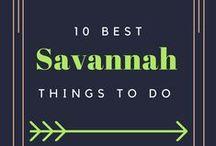 Travel | Savannah, GA / Fun and exciting travel tips for Savannah, GA