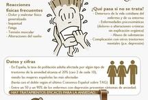 Infografias / Infografias creadas por Centro ITAE para aclarar algunas especialidades terapéuticas de forma muy visual
