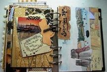 Travel Journals & Kits / Pages from Travel Journals and one of my fav things to create: Travel Journal Kits =D