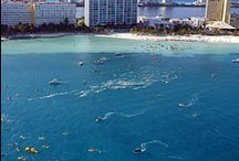El Cruce Por La Libre 2013 / 3k & 10k Open Water Swimming Event  Cancun-Isla Mujeres MEXICO