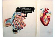 Draw / Pencil; pen; marker; color; paint; paper