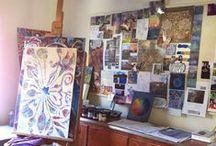 Artist Studios + Creative Inspiration