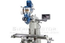 Lean Mean Milling Machines / New CNC, Vertical Knee and Bed Mills and Mill Drills. Check out www.sierravictor.com to see our wide selection and Call 386-304-3720 for more information.