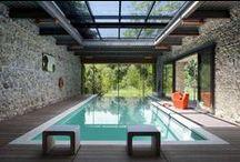 indoor swimming pools / Magnifiques piscines intérieures