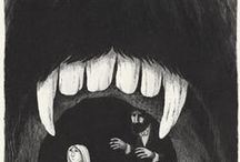 Выставка внутренних монстров / Мудборд
