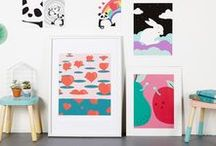 DOODLEMOO prints / We create fun & colourful art prints and accessories. All original illustrations made with love...visit us www.doodlemoo.com