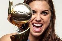 USA Women's National Team / The stars of USA Women's Team.