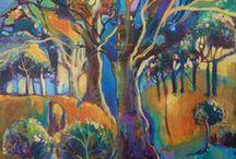 My Artwork - Australian Landscapes / Landscapes of memory and imagining