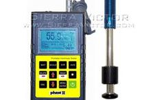 Inspector's Gadgets / Hardness testers, Impact Devices, Test blocks, Durometers, Coating hardness testers, Surface roughness gauges, thickness gauges, Micrometers, and MORE! CALL 386-304-3720, VISIT www.sierravictor.com