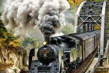 Trains steam