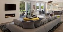 Living Rooms by VPA+D / Living rooms designed by Van Parys Architecture + Design located in Southern California.