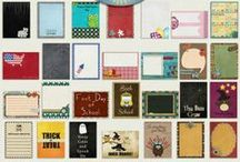 ART - Free Project Life /  Free Project Life Journal Cards ,Filler Cards ,Journal cards   / by 'SUalp Owen