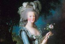 { Marie Antoniette } / Maria Antonia Giuseppa Giovanna d'Asburgo-Lorena, nota semplicemente come Maria Antonietta (Vienna, 2 novembre 1755 – Parigi, 16 ottobre 1793), fu regina consorte di Francia e di Navarra, dal 10 maggio 1774 al 21 settembre 1792, come sposa di Luigi XVI. La triste fine tutti la conoscono. Il mio personaggio storico preferito.