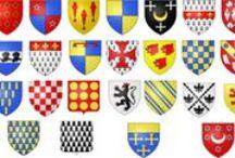 Blasons / [Nom Masculin] Ensemble des emblèmes, des armoiries qui forment un écu héraldique.
