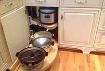Kitchen Accessories Ideas / Accessories and storage solutions for the custom kitchen.