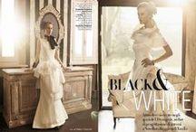 On the wedding magazines / La stilista Elisabetta Polignano con i suoi modelli ha fatto parlare riviste, magazine e giornali di settore.  We are ready?! Go... on the wedding magazines!