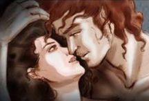 """✤ Outlander ✤ / Immagini tratte dal telefilm """"Outlander"""" della Starz e varie fanart tratte dalla saga di Diana Gabaldon. www.dianagabaldon.com / by Jessica Armanelli"""