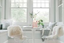 Great White Spaces / White Interior Love!