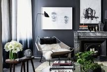 Moody Hues / Dark dramatic spaces