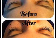 Eyelash Extensions at Gloss Beauty / Eyelash Extensions at the Gloss Beaty Salon x