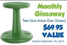 Monthly Giveaways / Enter eSpecial Needs' Monthly Giveaway here, http://www.especialneeds.com/giveaway.php to win an adaptive product. A winner will be chosen at the end of each month and be notified of their winnings. / by eSpecial Needs