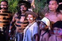 Travesía Sagrada Maya 2013 / De acuerdo a la tradición maya, se visita, honra y se solicitan favores a la diosa Ixchel en el oráculo de la Isla de Cozumel, esta fué la primera Travesía Sagrada Maya de los nuevos tiempos.  / by Lidia Nava Turismo