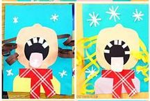Winter in the Classroom / Fun activities for the primary classroom to use during those winter months.