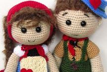 Crocheted & Knit Dolls / Knit and crocheted dolls. / by CraftsCrazy